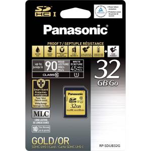 Panasonic SDHC Class 10 UHS-1 32Gb (RP-SDUB32GAK)