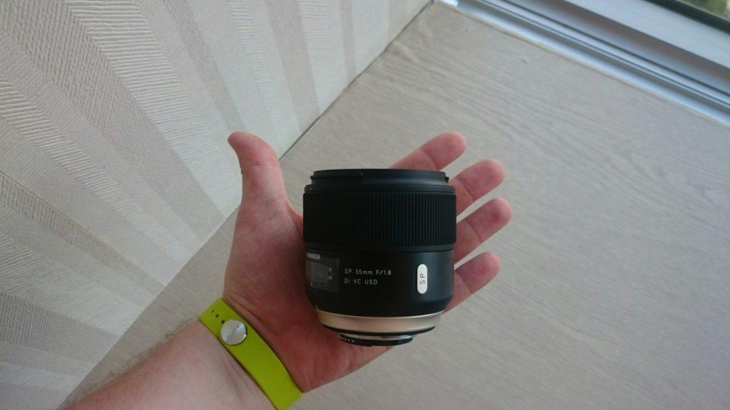 Tamron SP 35mm F1.8 Di VC USD (Model F012)