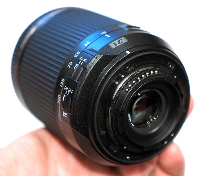 Tamron 18-200mm f/3.5-6.3 Di II VC