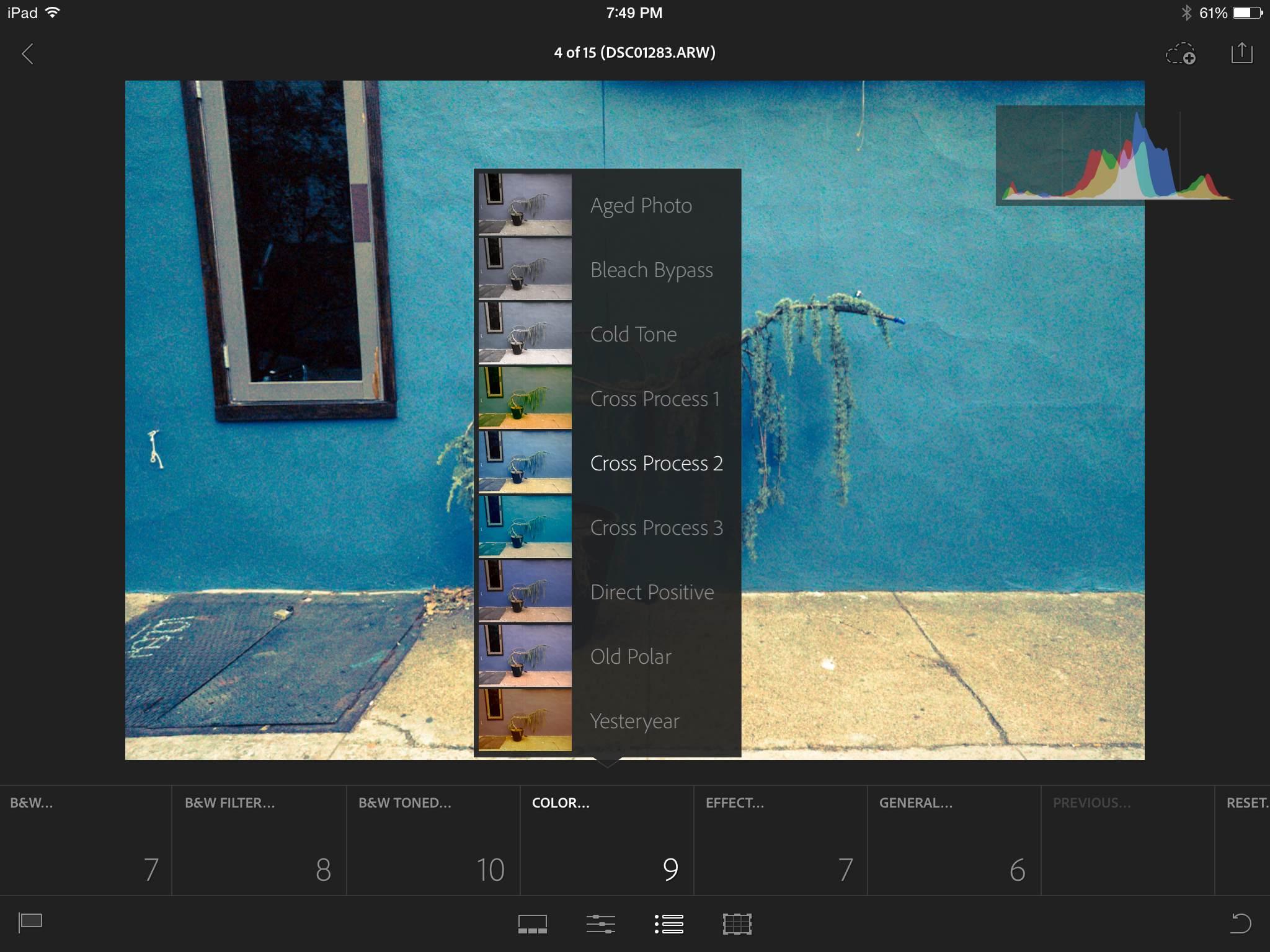 Adobe Lightroom mobile 2