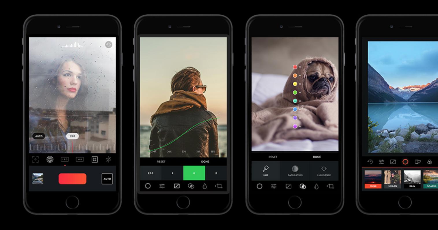 MuseCam — камера с ручными настройками и лучший редактор для iPhone и iPad — Catode.ru