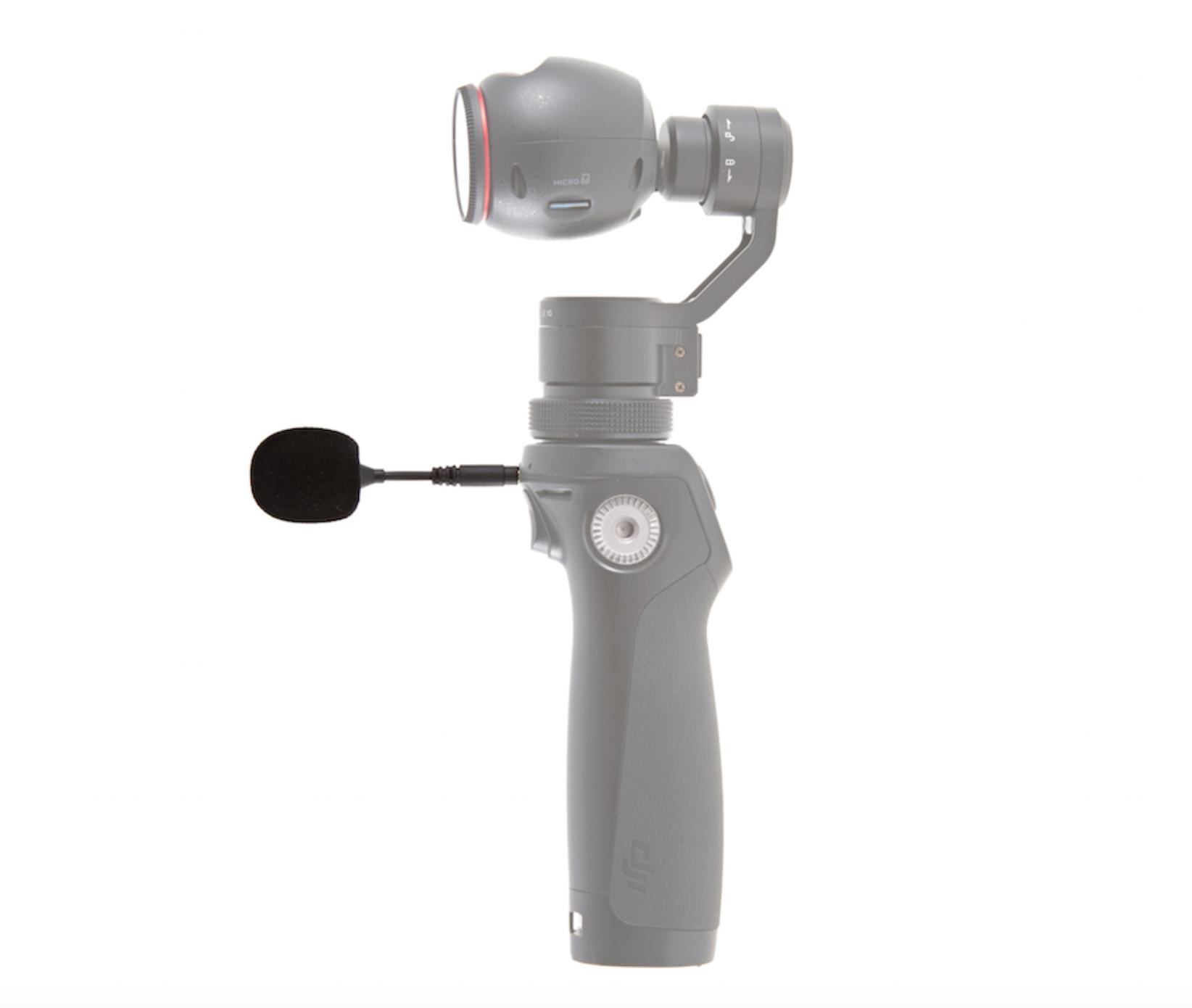 DJI Osmo+ Flexi microphone