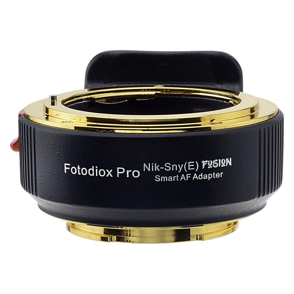 Fotodiox FUSION Smart AF Adapter, Nikon G-Mount AF-I / AF-S Lens to Sony E-Mount